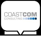 CoastCom Logo Sprechblase